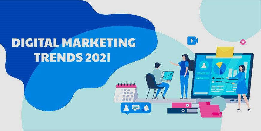 Five Growing Digital Marketing Trends For 2021